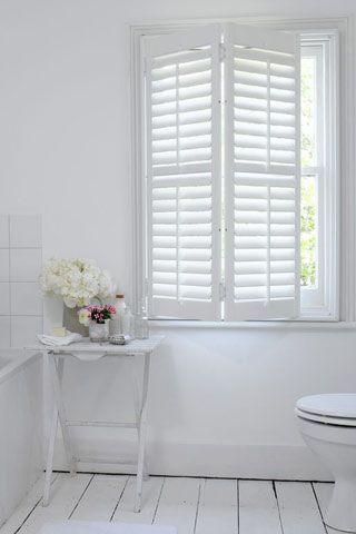 EyeOpening Unique Ideas Bathroom Blinds Apartments Bathroom - Bathroom shutters interior