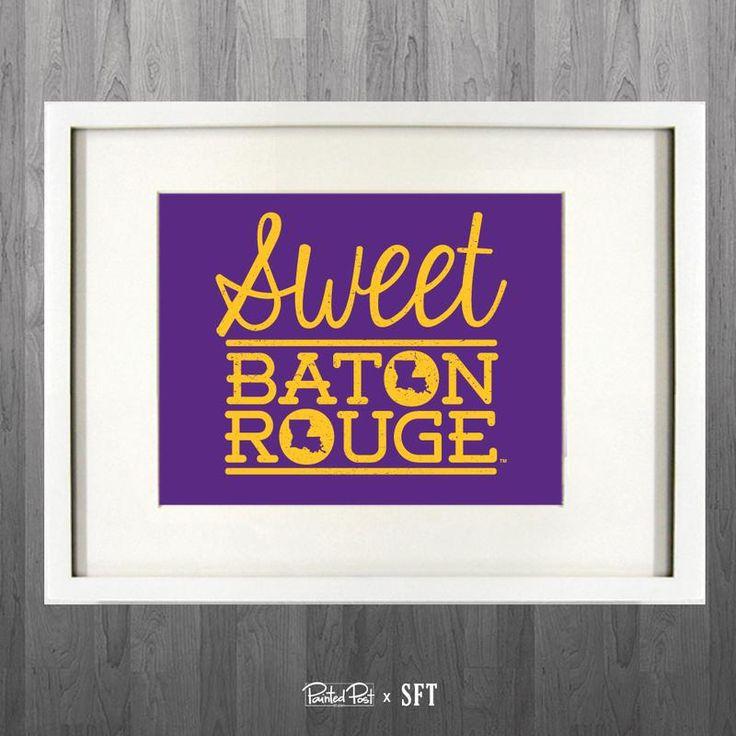 Sweet Baton Rouge 8x10 Gicle Print 74