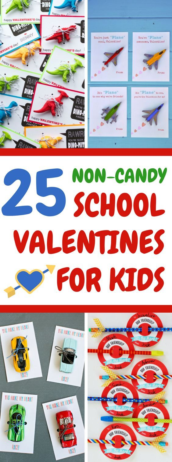 25 CREATIVE NON-CANDY VALENTINES YOUR KIDS WILL LOVE TO HAND OUT