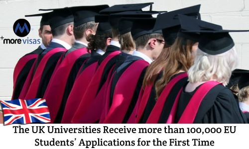 The UK Universities Receive more than 100,000 EU Students Applications for the First Time. Read more... https://goo.gl/CnDW8t  #UKUniversities #Students #VisaApplications #EUstudents #UKStudentVisa #immigration #visaconsultants https://www.morevisas.com/immigration-news-article/the-uk-universities-receive-more-than-100-000-eu-students-applications-for-the-first-time/5507/