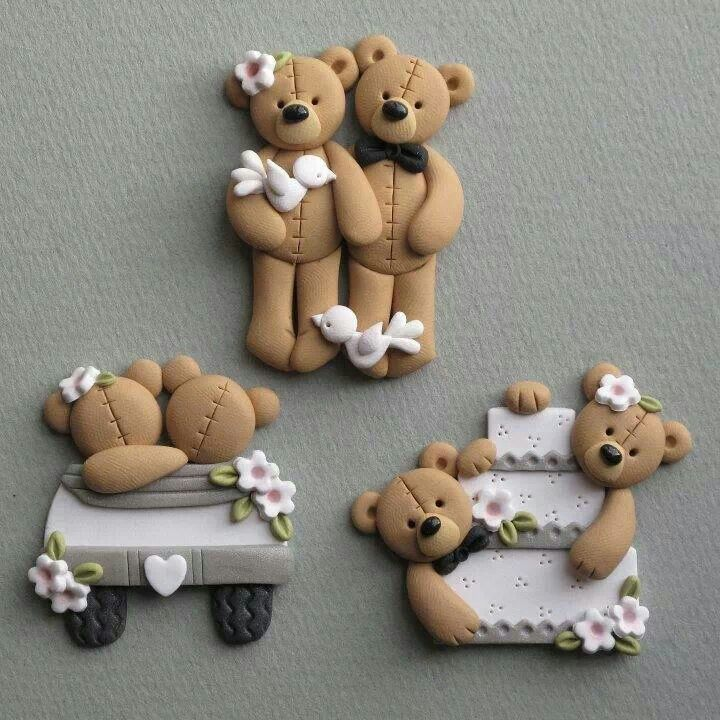boda osos idea                                                                                                                                                      Más