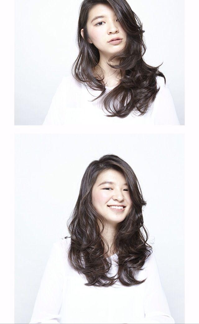 髪型/hairstyle/ヘアスタイル/ロングウェーブ