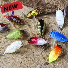 8 peças nova chegada estilo Trulinoya 5 mm 6 g Minnow de manivela de plástico Artificial Deep Diver rígido iscas iscas de pesca