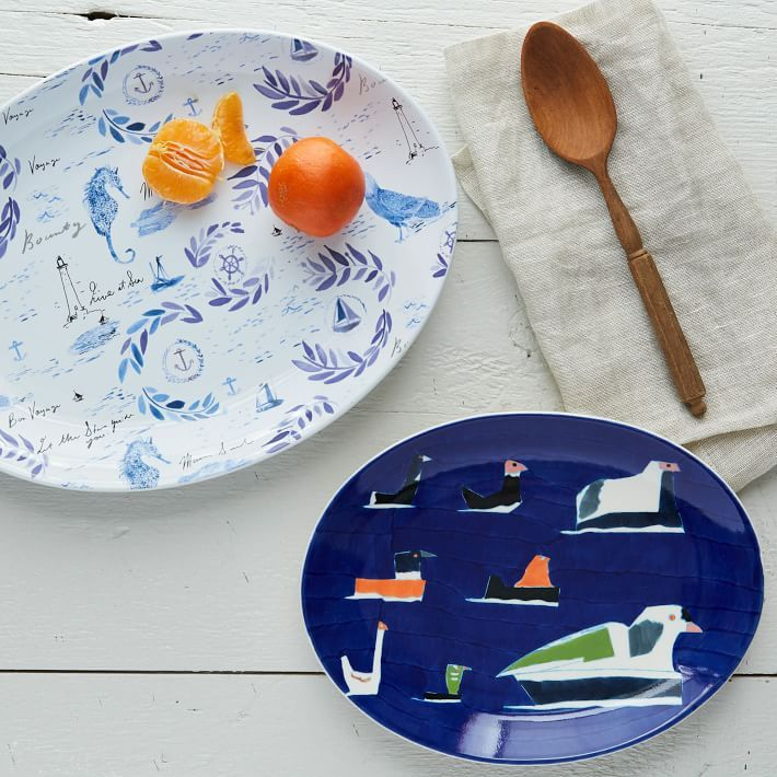 Add instant fun to your summer entertaining with these limited edition Serving Platters!