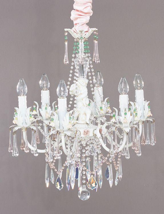 shabby chic chandelier design - Shabby Chic Chandelier
