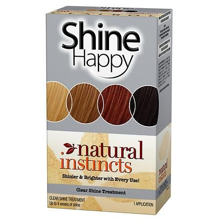 Clairol Natural Instincts Hair Color Shine Happy Treatment - 1 ea