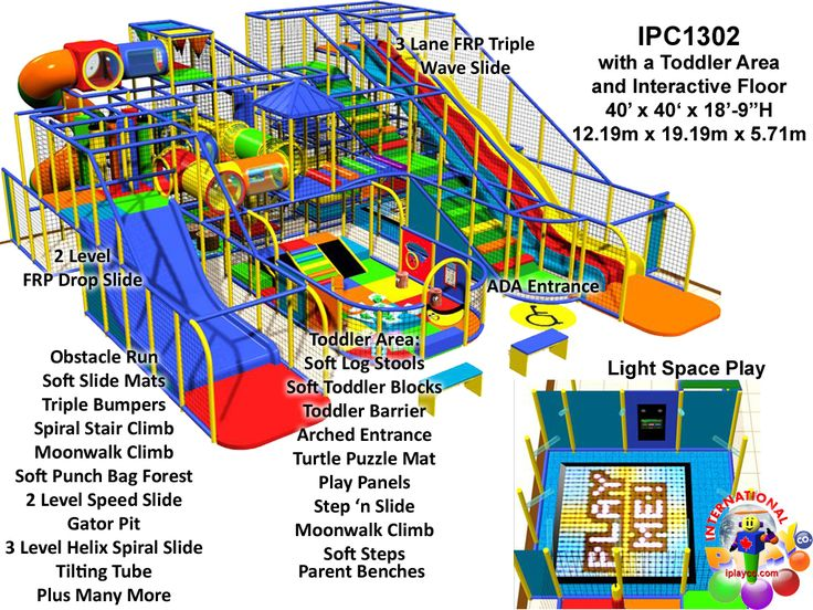 commercial indoor playground equipment manufacturer fec designs by