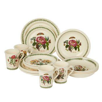 Portmeirion Botanic Garden 16 Piece Dinnerware Set