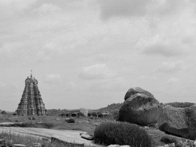 From a hillock, Hampi, Karnataka, India #India #Kamalan #travel #culture #photo