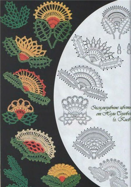 Irish Crochet Motifs- site has nice butterflies too, click on more info when you get there.