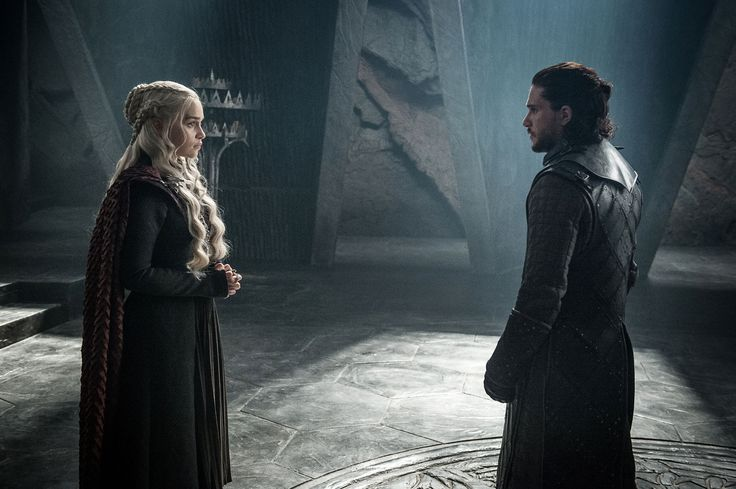 It finally happened. Last night on Game of Thrones, two of the most important characters in the series -- King in the North Jon Snow and Mother of Dragons...