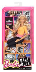 Barbie Made to Move Doll - Curly Blonde Hair