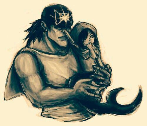 Arlong and his half sister Shyarly