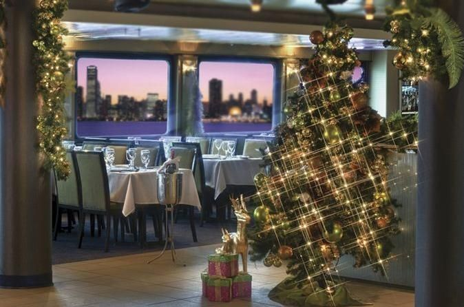 Viator Exclusive: Luxury Christmas Eve Dinner Cruise in New York City This holiday season, skip the overcrowded restaurants and treat your loved ones to a luxury Christmas Eve dinner cruise, a Viator Exclusive available nowhere else. Set sail from Chelsea Piers aboard an elegant yacht with panoramic windows and an outdoor observation deck, offering stellar views of the Statue of Liberty, Empire State Building, Brooklyn Bridge and more. Revel in three hours of good fo...