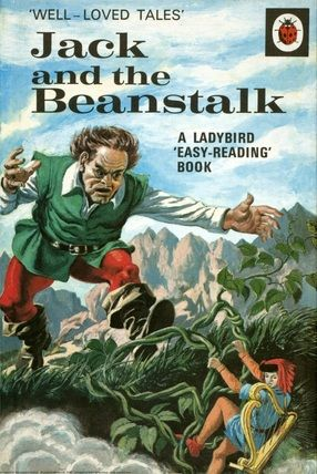 Jack And The Beanstalk - Cover - Eric Winter - Ladybird Book