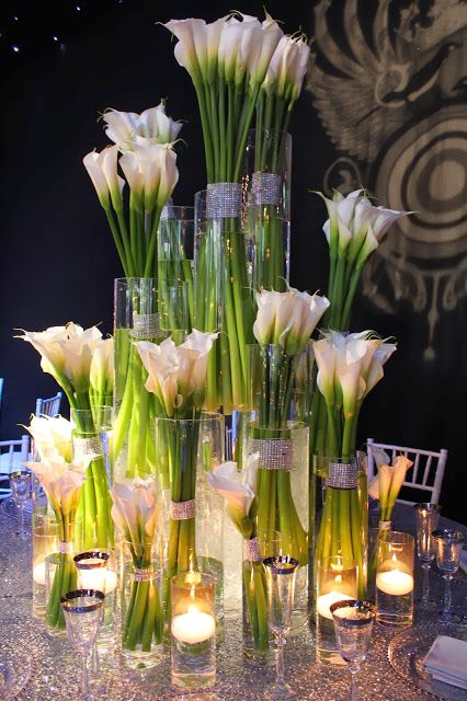 Best calla lillies centerpieces ideas on pinterest
