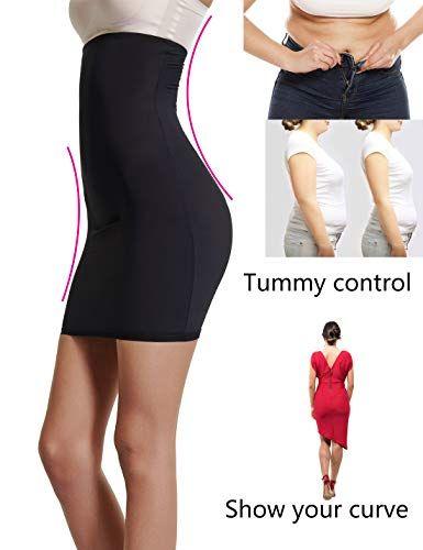 e85008777 Joyshaper Half Slips for Under Dresses Womens Tummy Control Dress Seamless  Slip Slimming Shapewear