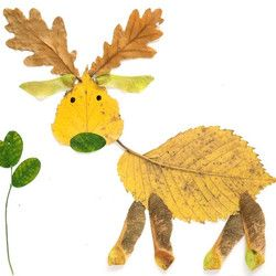 Inspiration: Make Leaf Art - Free Crafts, Handmade Gift Ideas, DIY ...