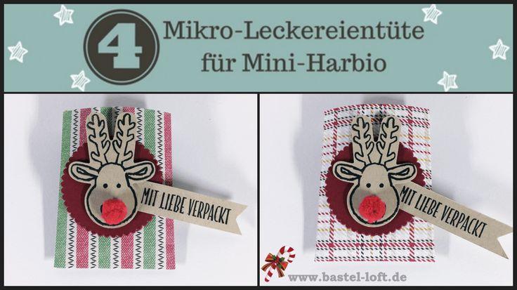 Adventskalender – Tag 4 – 5 Minuten Goodie - Mikro Leckereientüte für Mini-Haribo - Bastel-Loft