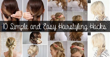 10 simple hairstyles