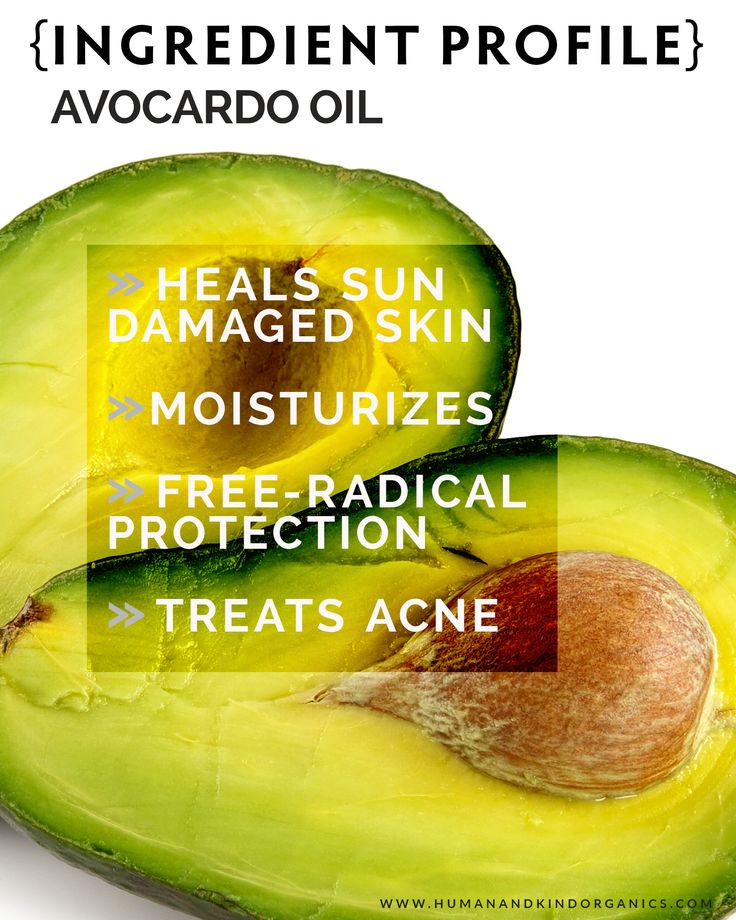 We are sharing the wonderful skin benefits of Avocado Oil