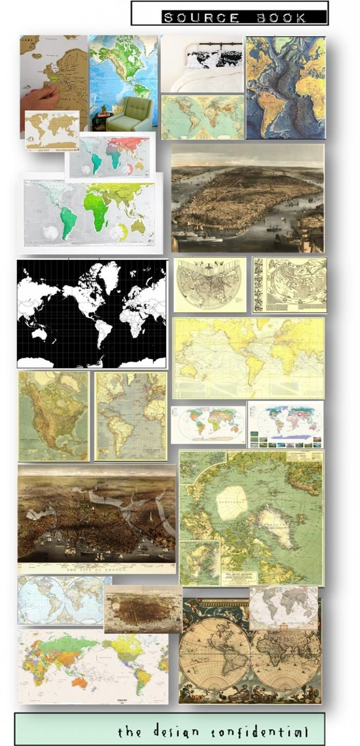 154 best Maps... images on Pinterest | Worldmap, Child room and ...