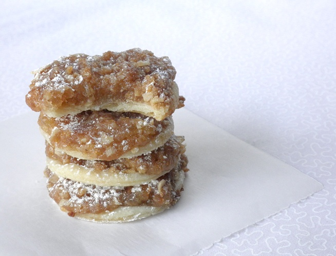 Apple Pie Cookies. This sounds so good and you don't have to bake a whole pie.