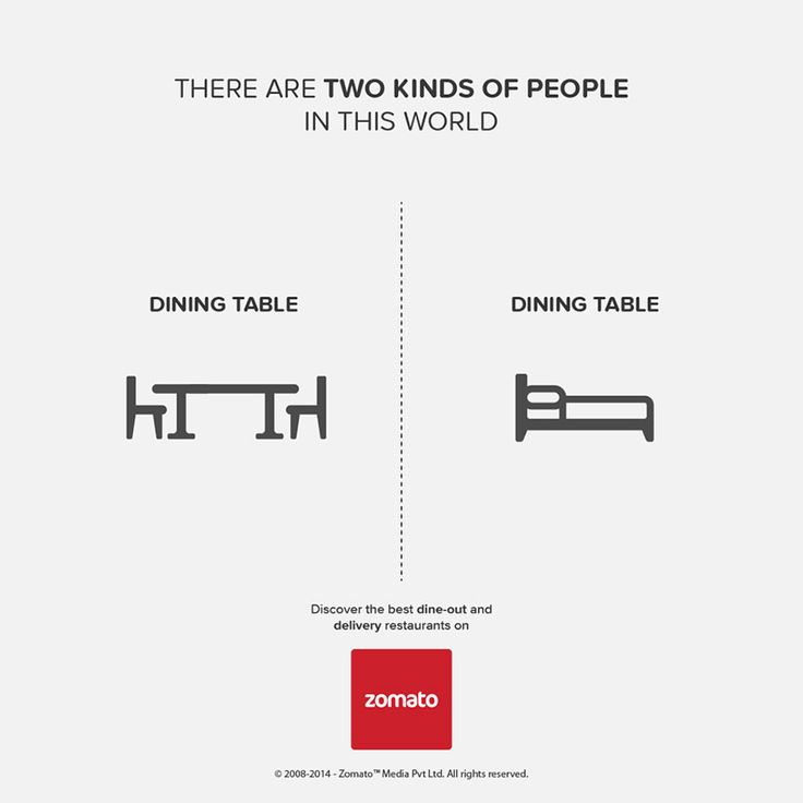 There Are Two Kinds of People in This World, Which Are You? (infographic 11/15)