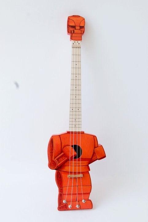 Roc em Soc em Robot ukulele (Robolele)