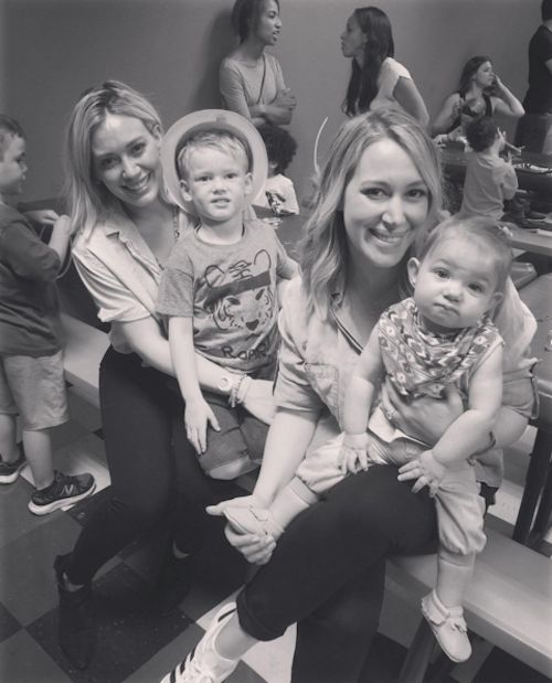 Hilary Duff's Son Turns 4 - http://site.celebritybabyscoop.com/cbs/2016/03/20/hilary-duffs-turns #Birthday, #BirthdayBoy, #Cousins, #HappyBirthday, #HaylieDuff, #HilaryDuff, #LucaComrie, #RyanRosenberg, #Sisters