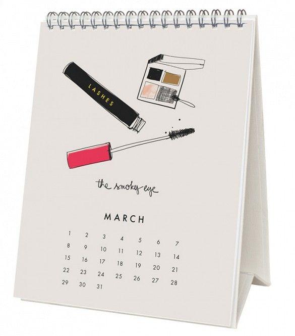 Calendar Design Guidelines : Best design desk calendars images on pinterest