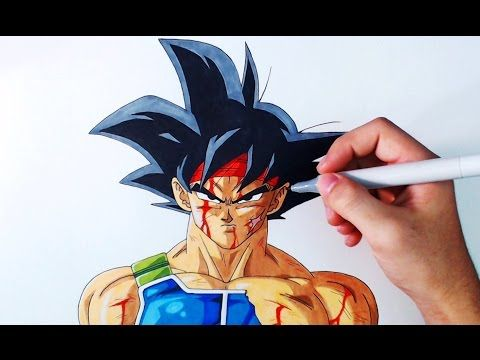 Cómo dibujar a Goku Black de Dragon Ball Super | How to draw Goku Black DBS | ArteMaster - YouTube