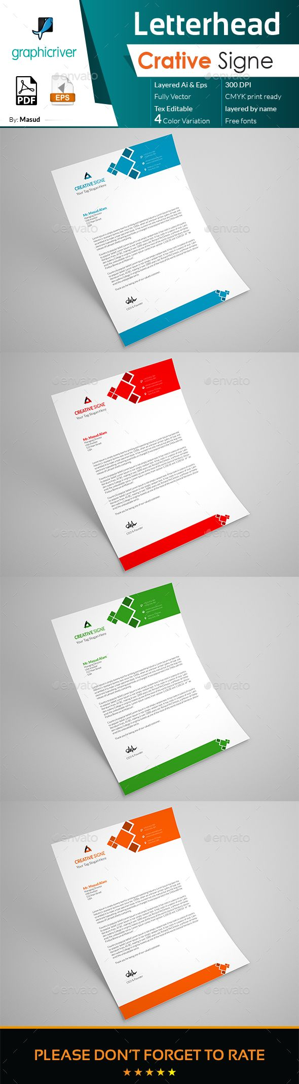 226 best letterhead design templates images on pinterest letterhead stationery print templates spiritdancerdesigns Gallery