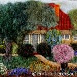 Stitched Canberra Postcard