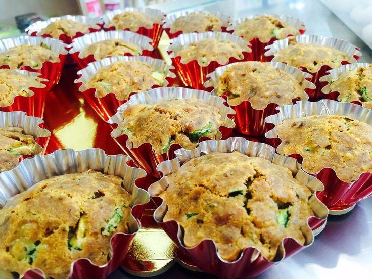 #Muffin salati con zucchine :) gustosissimi e #vegan!