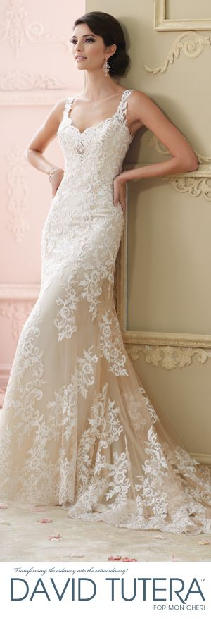 The David Tutera for Mon Cheri Fall 2015 Wedding Gown Collection - Style No. 215278 Florine   davidtuteraformoncheri.com   #weddingdresses
