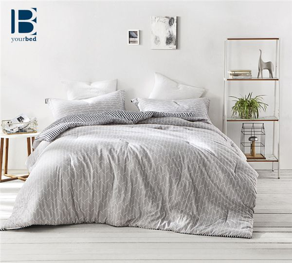 Engulf yourself in comfort and #Simple_Design with the BYB Broken Arrow Comforter. This #Beautiful_Comforter has a white grid pattern on a soft gray backdrop to bring calming, yet decorative accents to your #Bedroom with #Gray_Decor. #Byourbed #Gray #Gray_Comforter #Simple_Bedding #Light_Gray #Arrow #Arrow_Decor #Simple_Decor #Light_Gray_Bedroom #Cute_Comforter #New_Bedding #Cozy #Blanket #Gray_Blanket #Gray_Bedding