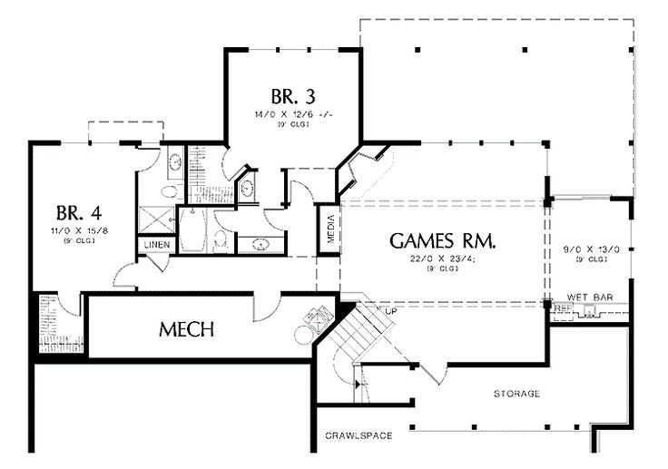 18 best images about home floor plans with basement on for Rambler floor plans with basement