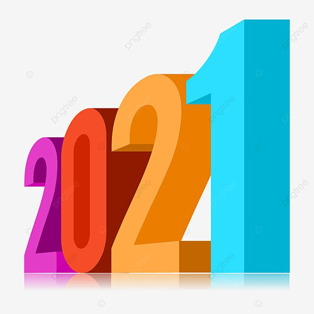 3d 2021 Preview Reflection Effect Fun Color 2021 Calendar Year Png Transparent Image And Clipart For Free Download Wedding Album Design Fun Colors Album Design