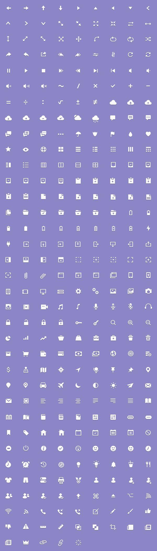 Prototicons by Adam Hayek, via Behance - $15