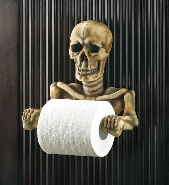 Attractive Spooky Toilet Paper Holder   Toilet Tissue Holders