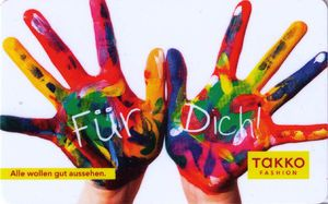 Austrian gift card - Für Dich – hands. Newly added on Colnect. @ http://colnect.com/aff/da_1/gift_cards
