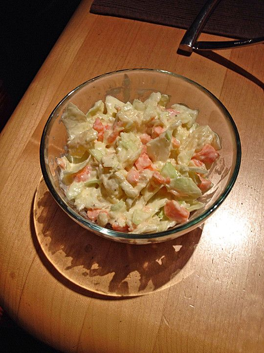 Chefkoch.de Rezept: Thailändischer Weißkrautsalat