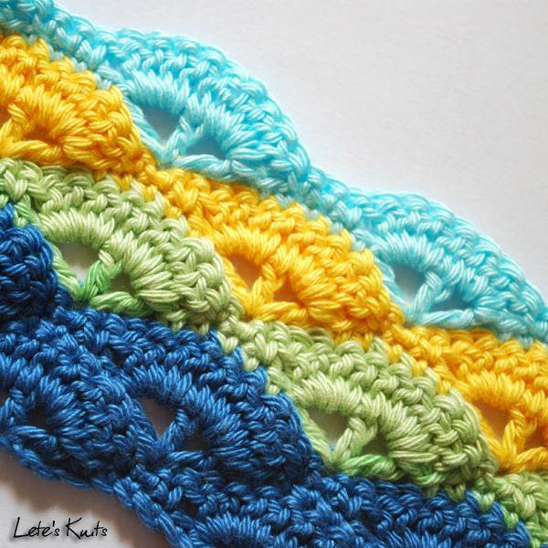 Shell crochet stitch