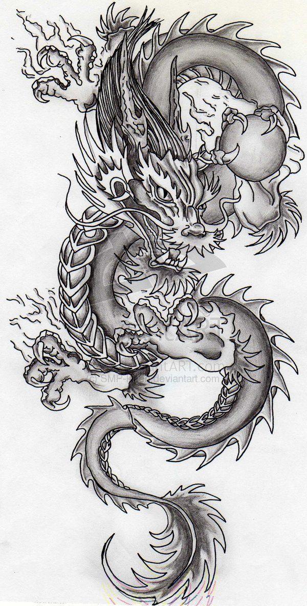 Драконы картинки тату и значение