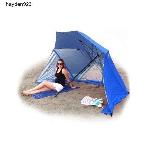 XL-Beach-Umbrella-Sport-Brella-Outdoor-Shade-Portable-Camping-Sun-Protection-New