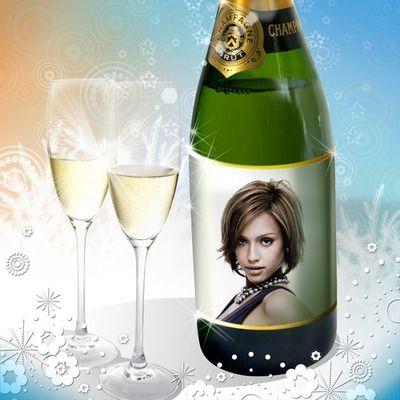 Champagne Fête Fiançailles Mariage