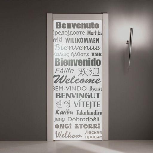 Vinilo transl cido para decoraci n de puertas de cristal - Vinilos para puerta ...