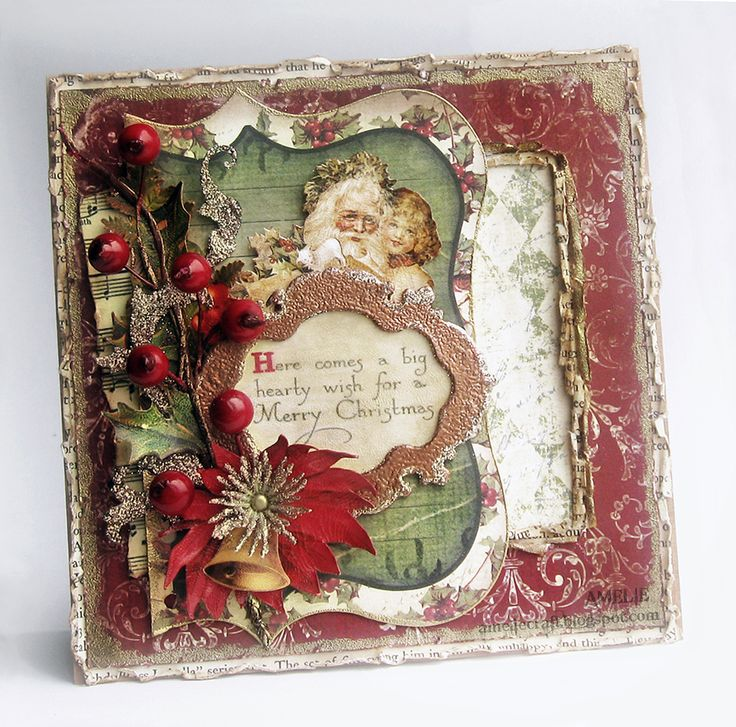 30 best bo bunny images on pinterest mini albums for Vintage christmas craft supplies