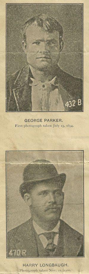 Train Robbers - George Parker (alias Butch Cassidy) and Harry Longbaugh (alias the Sundance Kid).